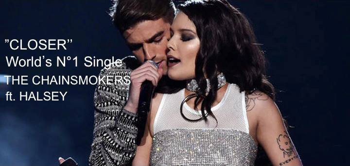 World Music Awards :: 'Closer' by American DJ duo Chainsmokers